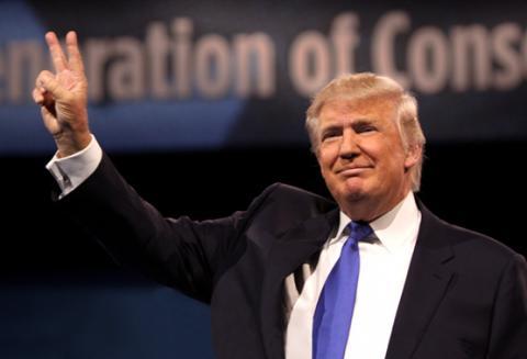 Donald Trump Peace Sign
